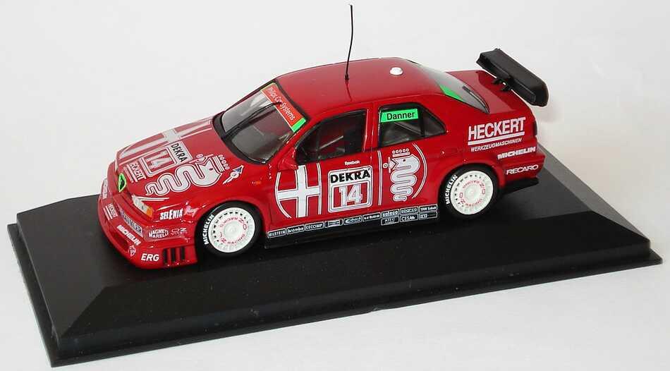 Foto 1:43 Alfa Romeo 155 V6 TI DTM 1993 Schübel-Team Nr.14, Danner Minichamps 930122
