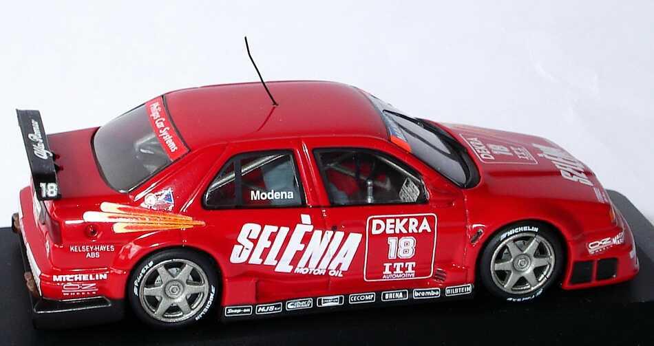 Foto 1:43 Alfa Romeo 155 V6 TI DTM 1995 Selena Nr.18, Modena Minichamps