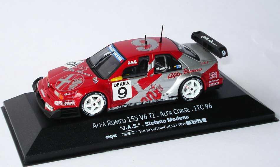 Foto 1:43 Alfa Romeo 155 V6 TI ITC 1996 JAS, Alfa Romeo Nr.9, Stefano Modena Onyx XT013