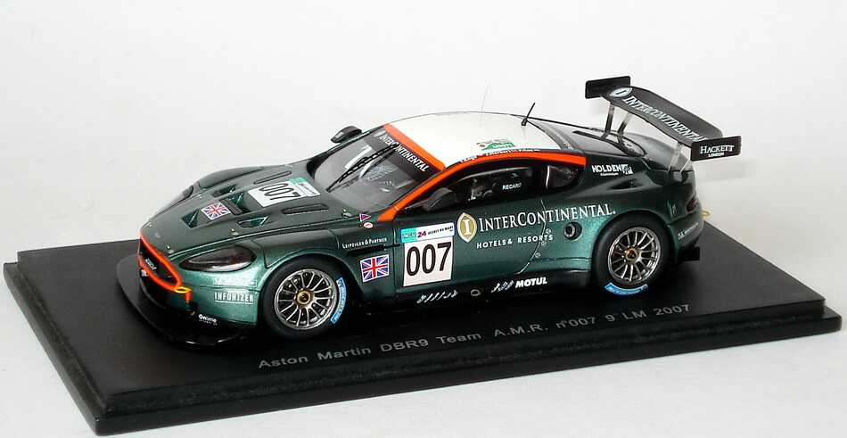 Foto 1:43 Aston Martin DBR9 24h von Le Mans 2007 Team AMR Nr.007, Enge / Herbert / Kox Spark S1208
