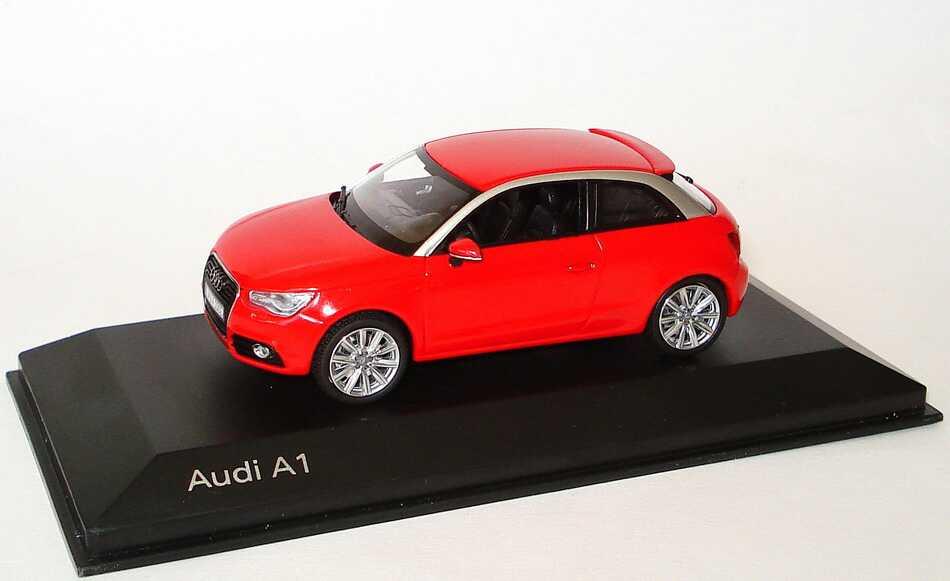 Foto 1:43 Audi A1 misanorot Werbemodell Kyosho 5011001023