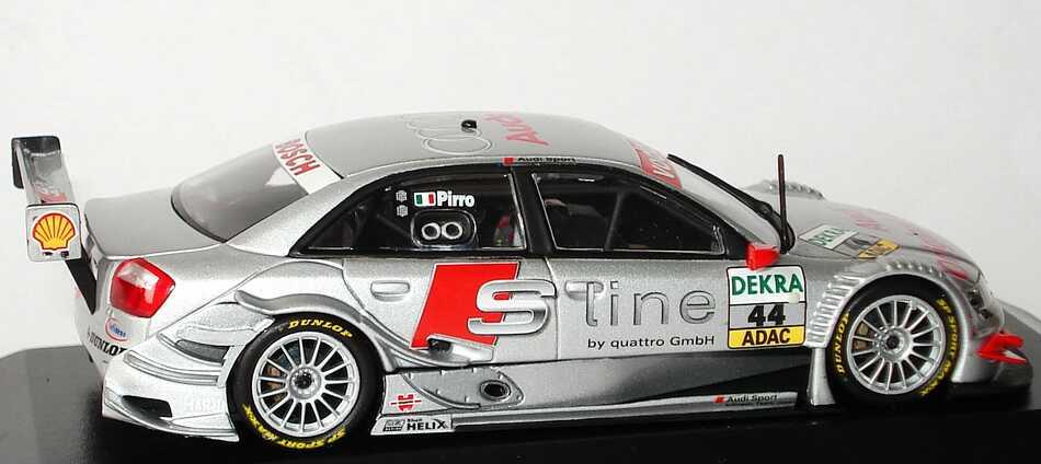 Foto 1:43 Audi A4 DTM 2004 S Line Nr.44, Emanuele Pirro Minichamps 400041444