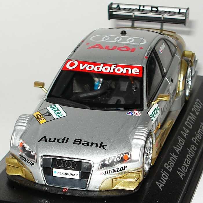 1:43 Audi A4 DTM 2007 Phoenix Racing Audi Bank 17
