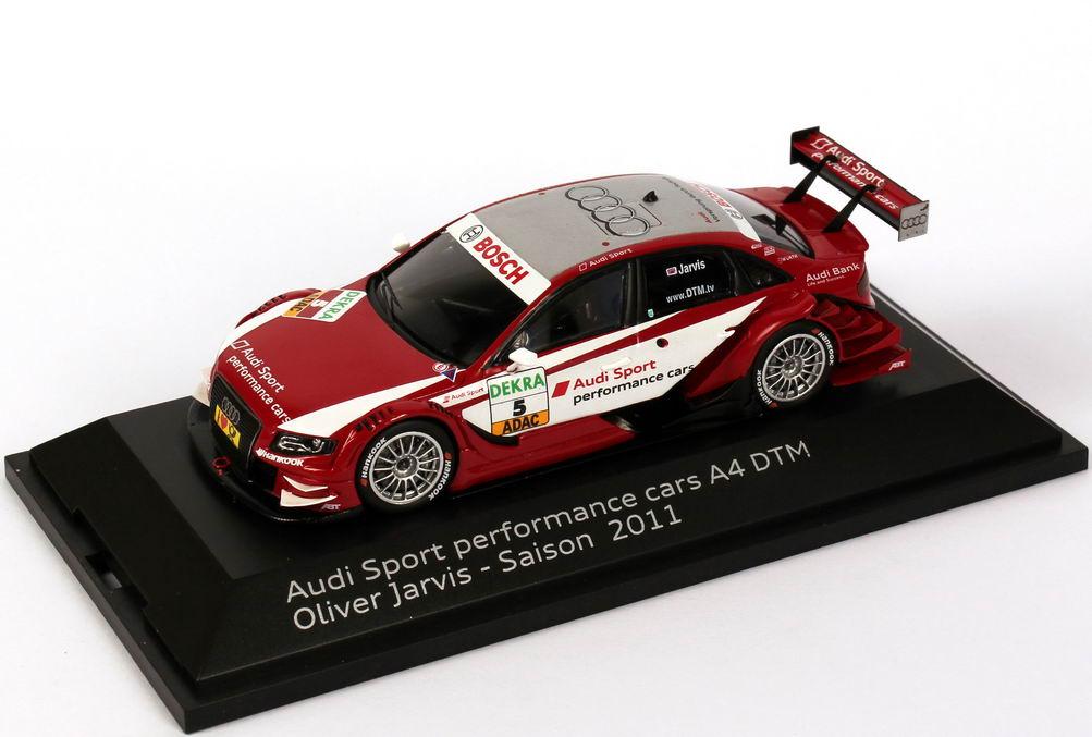 Foto 1:43 Audi A4 DTM 2011 Abt, Audi Sport Nr.5, Oliver Jarvis Werbemodell Spark 5021100233