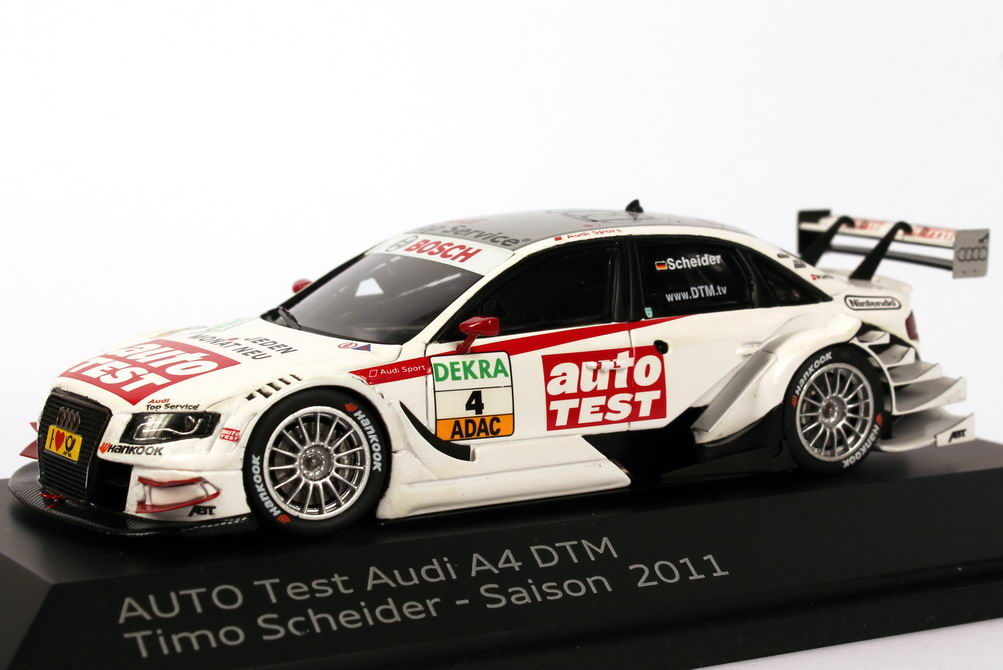 1 43 audi a4 dtm 2011 abt auto test nr 4 timo scheider. Black Bedroom Furniture Sets. Home Design Ideas