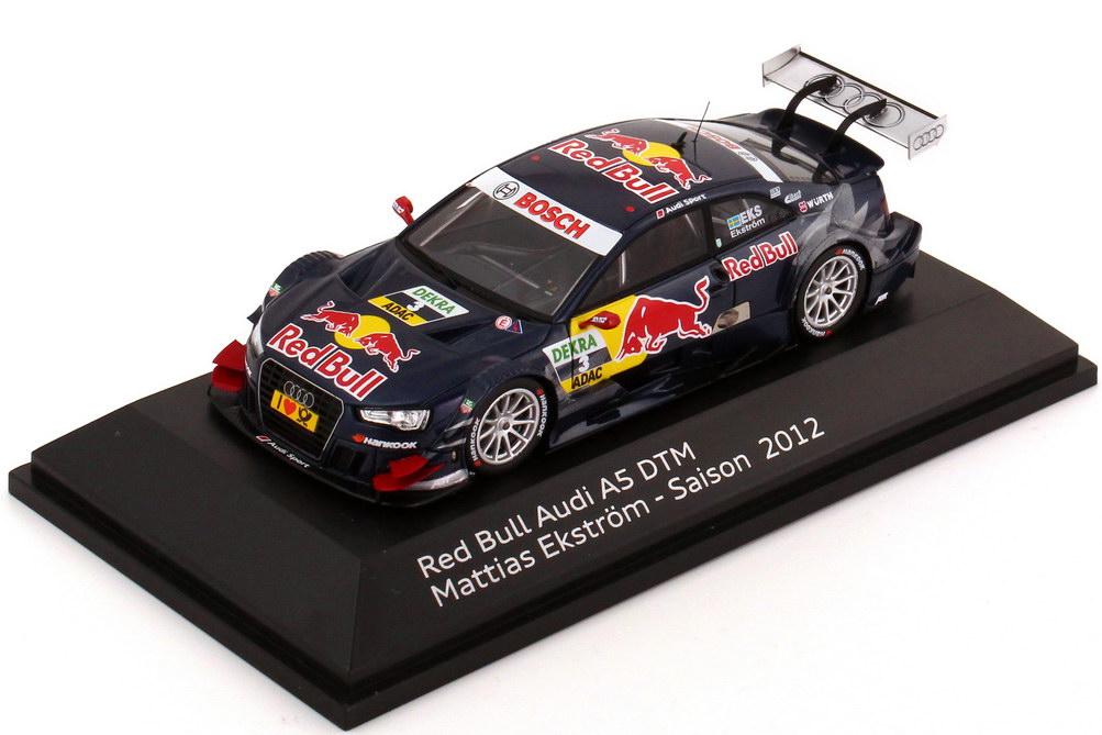 Foto 1:43 Audi A5 DTM 2012 Red Bull Nr.3, Mattias Ekström Werbemodell Spark 5021200123