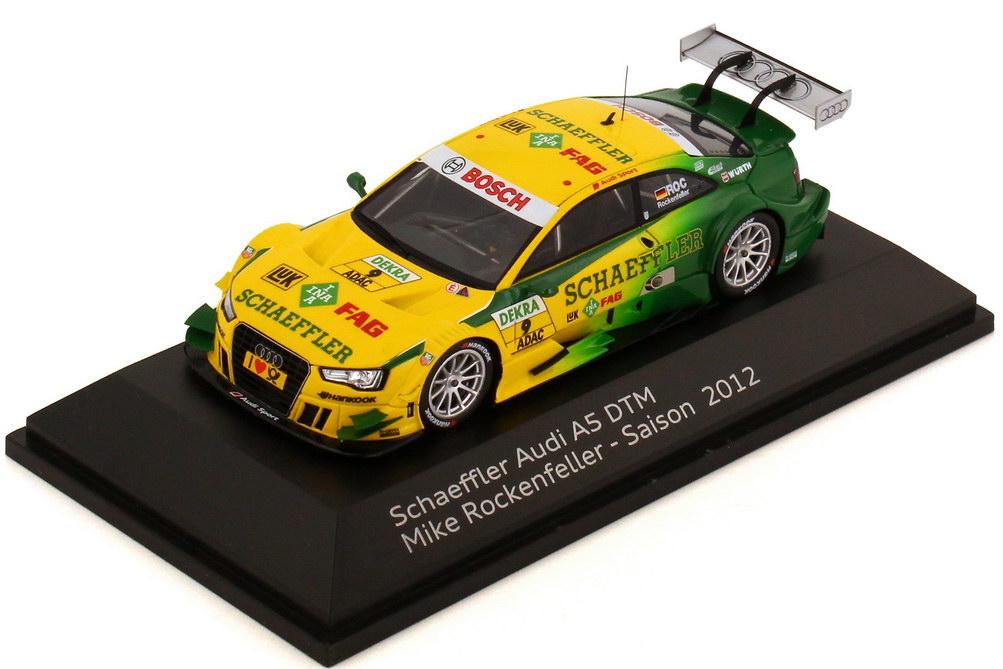 Foto 1:43 Audi A5 DTM 2012 Schaeffler Nr.9, Mike Rockenfeller Werbemodell Spark 5021200143