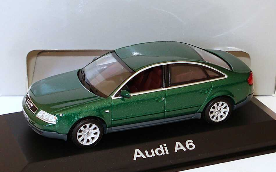 Foto 1:43 Audi A6 (C5) racinggreen Werbemodell Minichamps 20000000047003