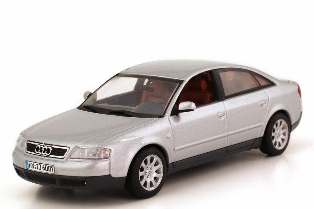 Foto 1:43 Audi A6 (C5) silber-met. Minichamps