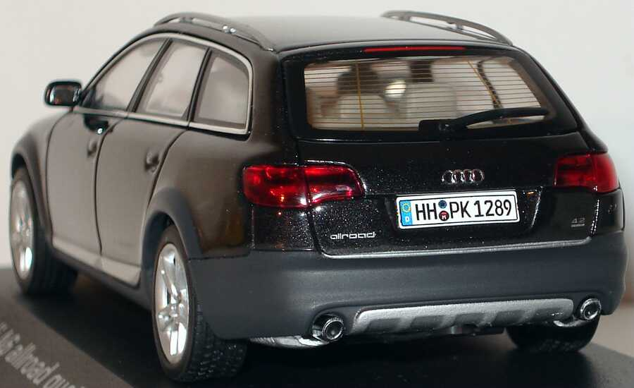 Foto 1:43 Audi A6 allroad quattro 2006 lavagrau-met. Werbemodell AUTOart 5010506623