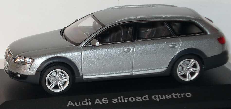 Foto 1:43 Audi A6 allroad quattro 2006 quarzgrau-met. Werbemodell AUTOart 5010506613