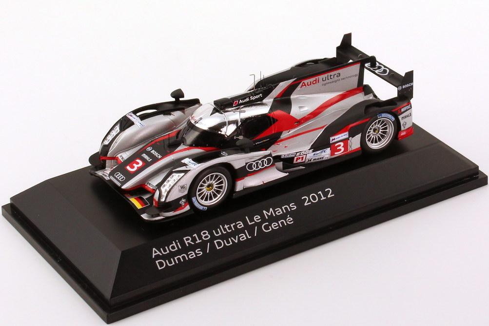 Foto 1:43 Audi R18 ultra 24h von LeMans 2012 Nr.3, Dumas / Duval / Gené Werbemodell Spark 5021200253