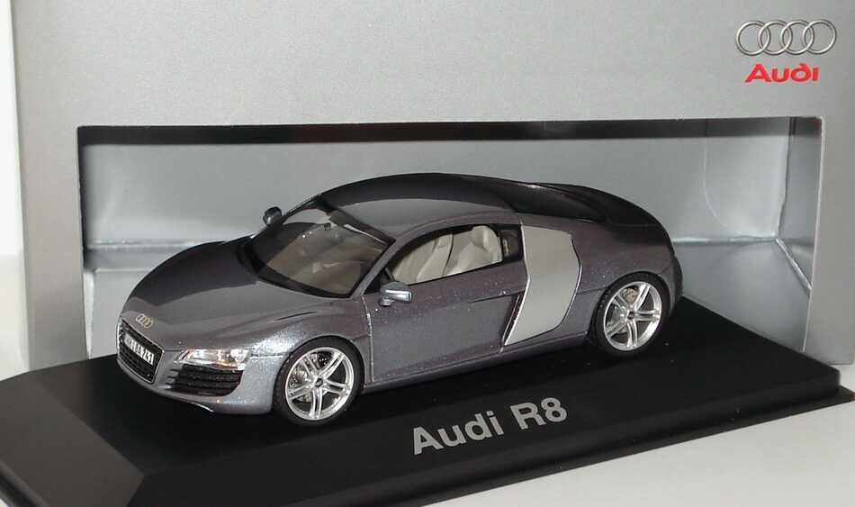 Foto 1:43 Audi R8 4.2 FSI quattro jetblau-met. - Werbemodell - Schuco 5010618423