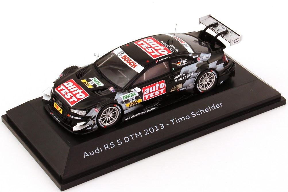 Foto 1:43 Audi RS 5 DTM 2013 ABT, Auto Test Nr.23, Scheider Werbemodell Spark 5021300143