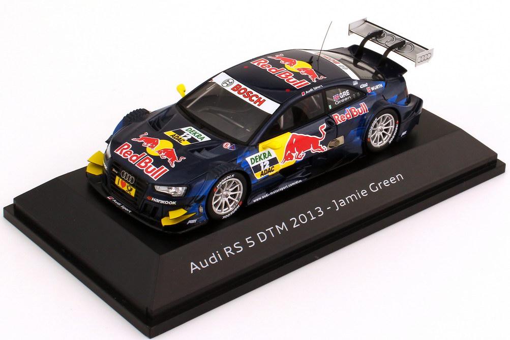 Foto 1:43 Audi RS 5 DTM 2013 Red Bull Nr.12, Jamie Green Werbemodell Spark 5021300153