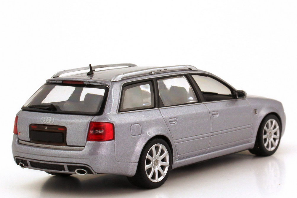 audi rs6 avant c5 grau met minichamps in der. Black Bedroom Furniture Sets. Home Design Ideas
