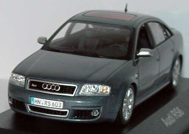 Foto 1:43 Audi RS6 (C5) daytonagrau-met. Werbemodell Minichamps 50102101130