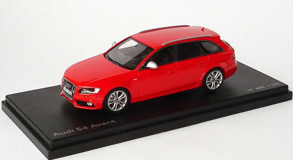 Foto 1:43 Audi S4 Avant (B8) misanrot Werbemodell Looksmart 5010814213