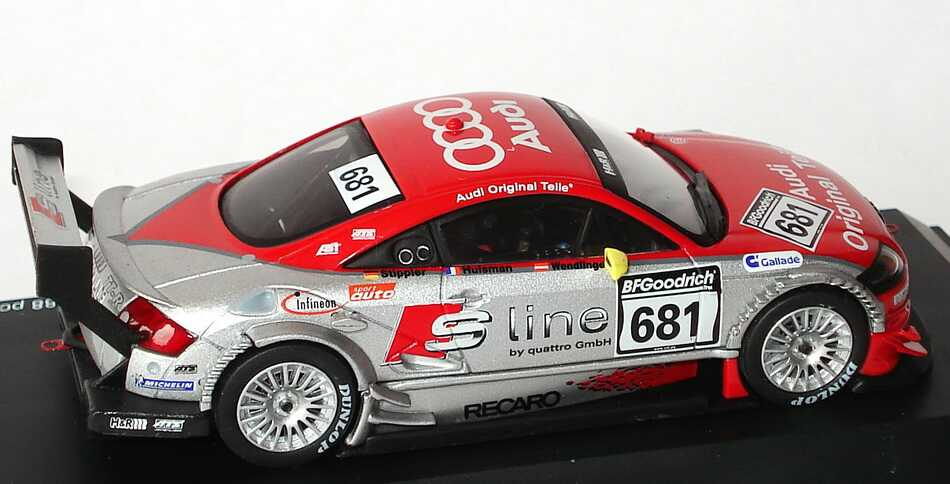 Foto 1:43 Audi TT-R 53. ADAC Westfalenfahrt 2003 S Line, Abt Nr.681, Stippler / Huisman / Wendlinger Schuco 04904