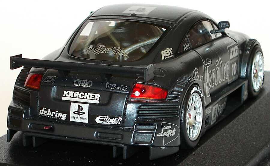 Foto 1:43 Audi TT-R DTM 2000 Hasseröder Nr.10, Abt, Test Car mattschwarz Minichamps 430001890