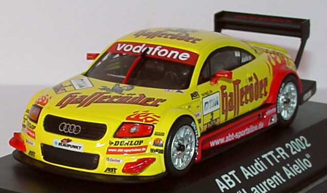 Foto 1:43 Audi TT-R DTM 2002 Hasseröder Nr.3, Aiello Schuco 04812
