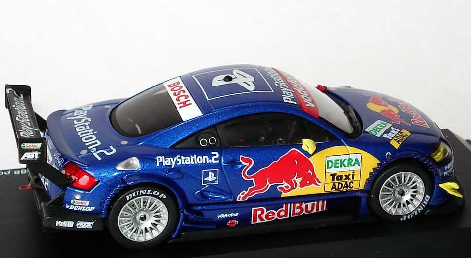 Foto 1:43 Audi TT-R DTM Präsentation 2003, Taxi Red Bull, PlayStation 2, Abt Schuco 04905