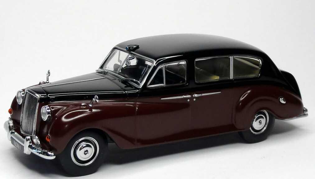 Foto 1:43 Austin A135 Princess dunkelweinrot/schwarz Royal Familiy Oxford AP004