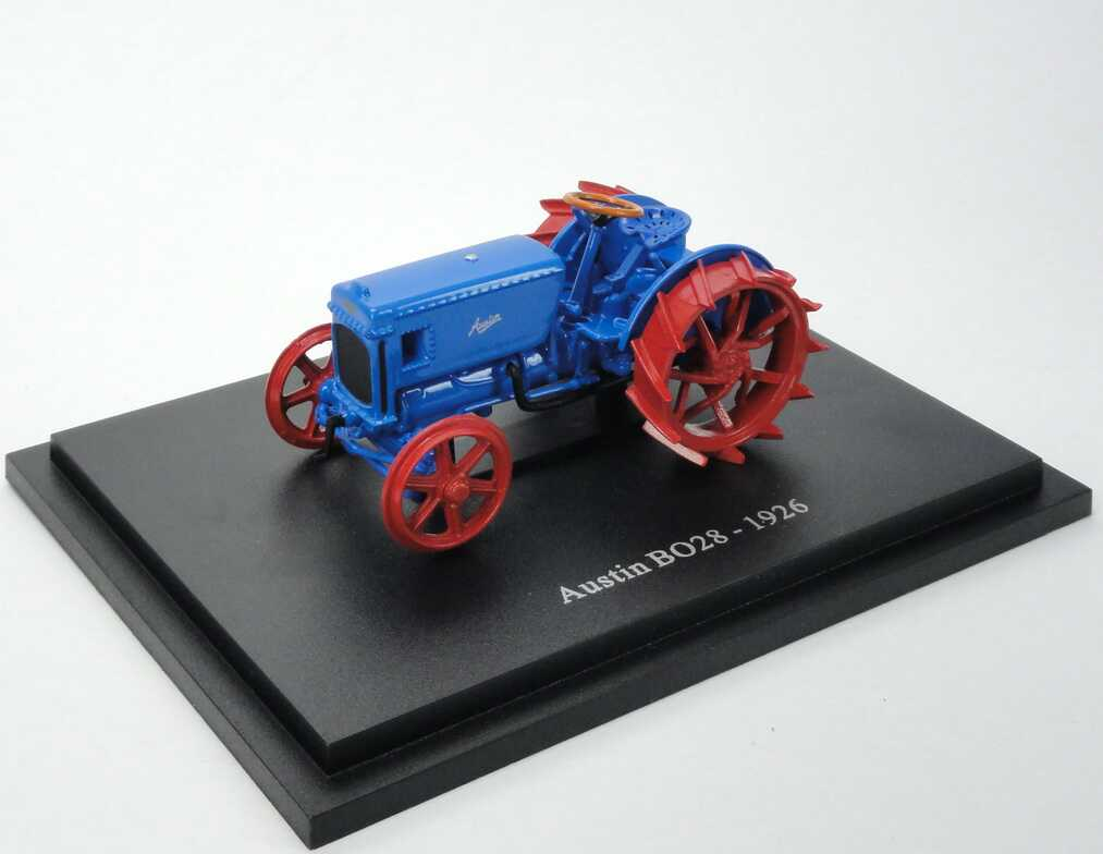 Foto 1:43 Austin BO28 Tractor (1926) blau Universal Hobbies