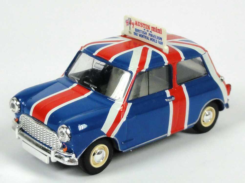 Foto 1:43 Austin Mini British Pavillon, World Fair Montreal 1967 Vitesse L028