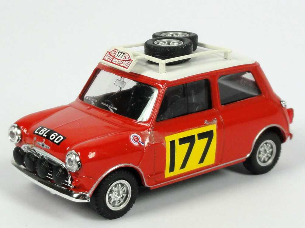 Foto 1:43 Austin Mini Cooper S Rallye Monte Carlo 1967 Nr.177, Aaltonen / Liddon Vitesse L034