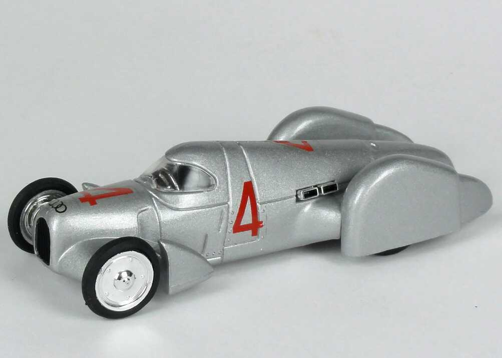 Foto 1:43 Auto Union Rekordwagen Typ B 1935 Nr.4 - Brumm R108
