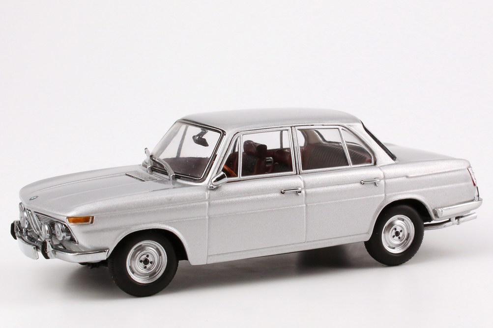 Foto 1:43 BMW 1800 TiSA (1965) polaris-silber-met. Minichamps 400025100