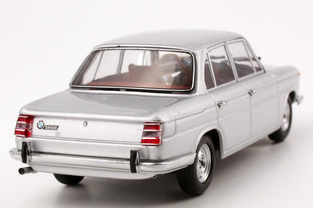 bmw 1800 tisa 1965 polaris silber met minichamps 400025100 in der modellauto galerie. Black Bedroom Furniture Sets. Home Design Ideas