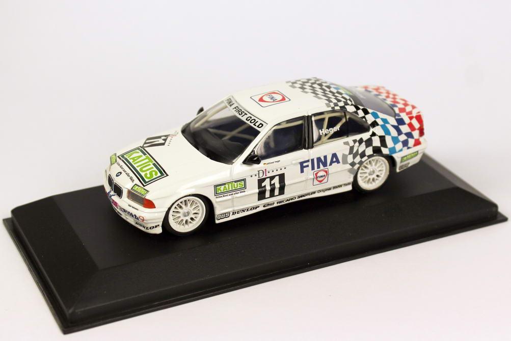 Foto 1:43 BMW 318i (E36) ADAC TW-Cup 1994 Fina, Kattus Nr.11, Heger Minichamps 430942011