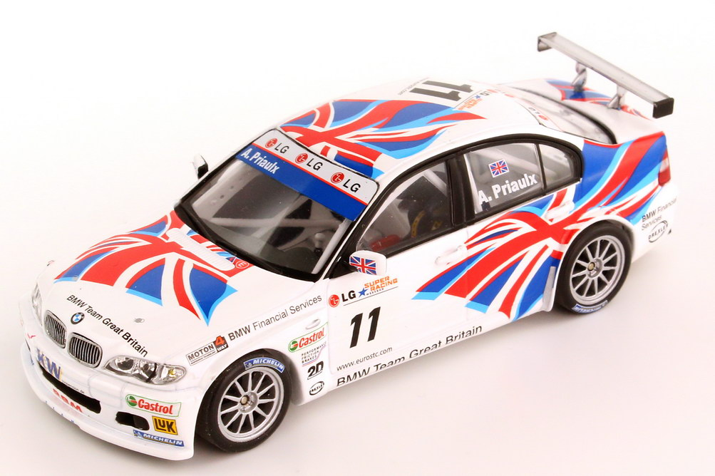 Foto 1:43 BMW 320i E46 ETCC 2004 BMW Team UK Nr.11 Andy Priaulx - Champion - Minichamps 400 042411