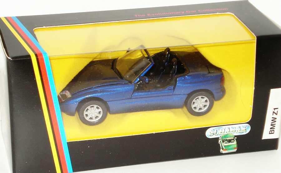 Foto 1:43 BMW Z1 blau-met. Schabak 1160
