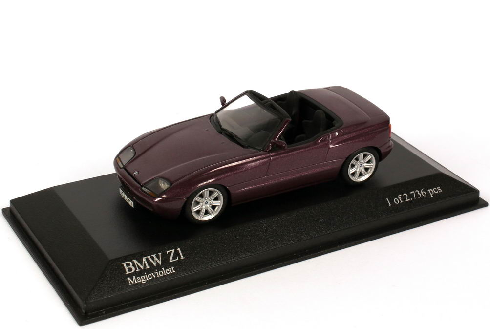 Foto 1:43 BMW Z1 magic-violett-met. Minichamps 400020101