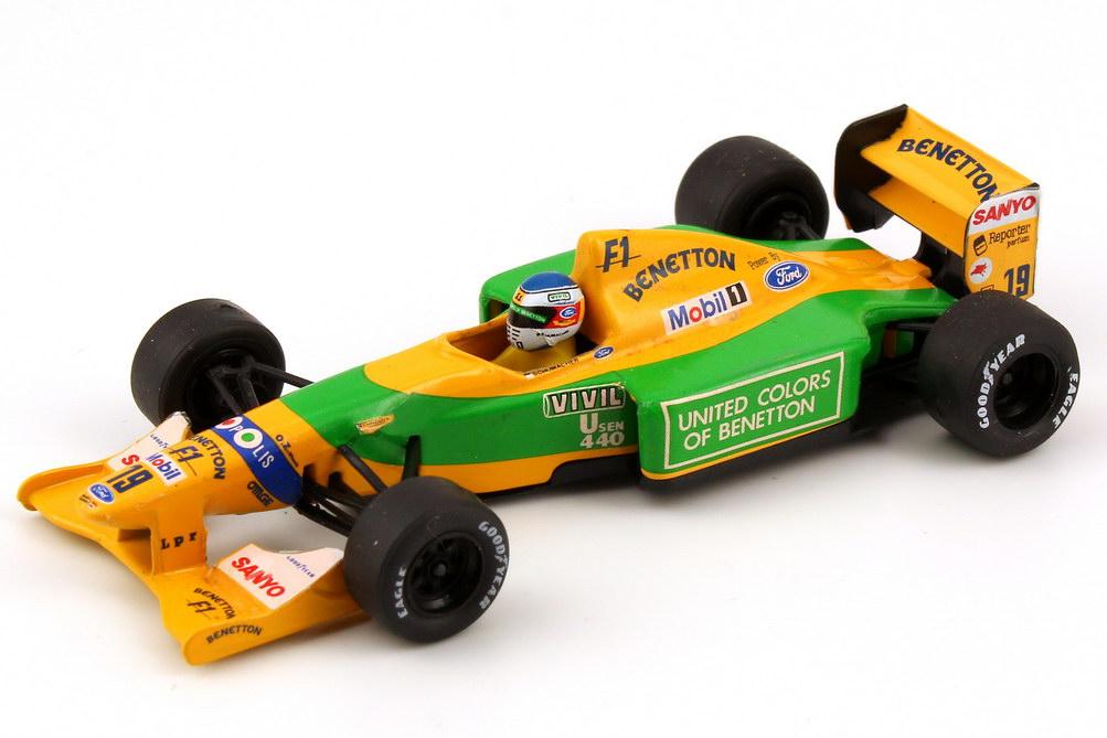 Foto 1:43 Benetton Ford B192 Formel 1 1992 Nr.19, Michael Schumacher Onyx 143