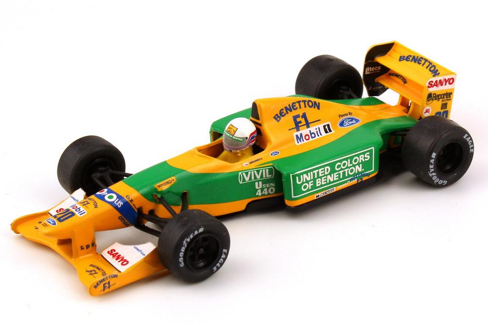 Foto 1:43 Benetton Ford B192 Formel 1 1992 Nr.20, Martin Brundle Onyx 144