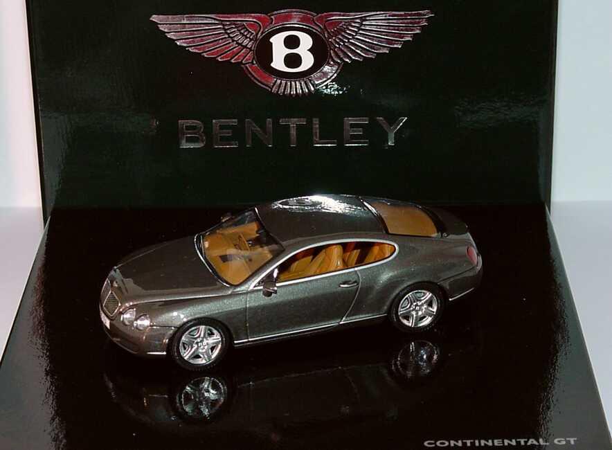Foto 1:43 Bentley Continental GT cypressgreen-met. Werbemodell Minichamps BL312
