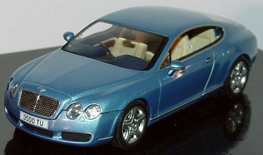 Foto 1:43 Bentley Continental GT silverlake-met. Werbemodell Minichamps BL314