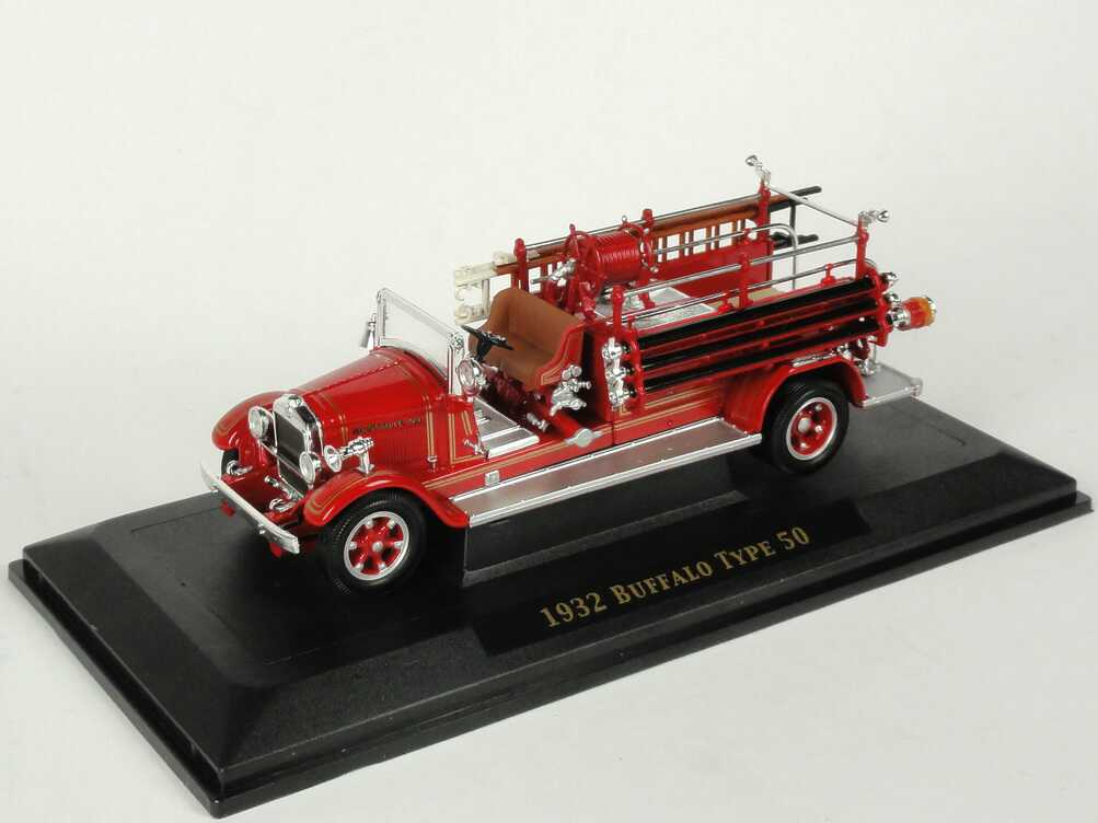 Foto 1:43 Buffalo Type 50 (1932) Fire Engine Excelsior Fire Co., Montville Yat Ming 43005