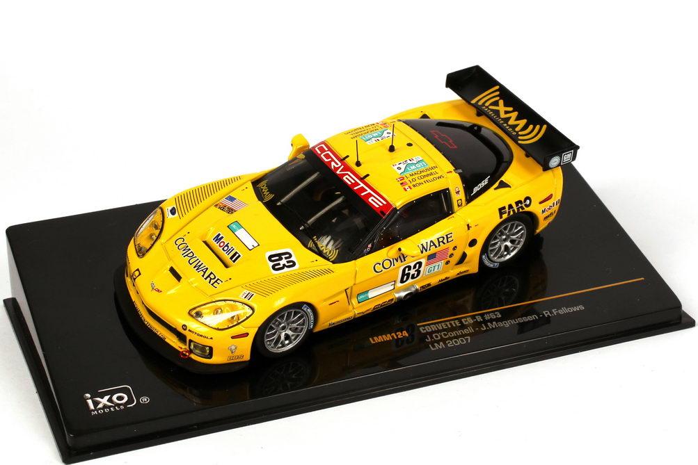 Foto 1:43 Chevrolet Corvette C6-R 24h von Le Mans 2007 Compuware Nr.63, O´Conell / Magnussen / Fellows Ixo LMM124