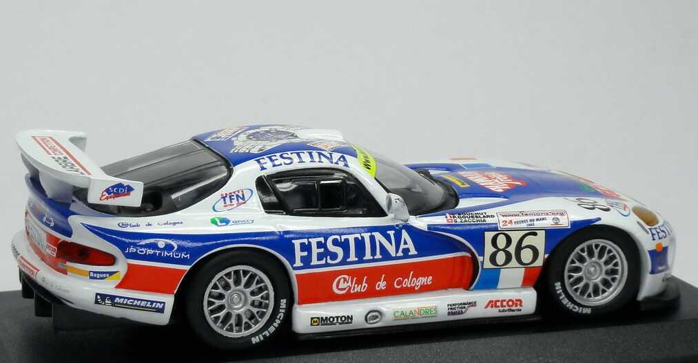 Foto 1:43 Chrysler Viper GTS-R 24h von Le Mans 2003 Larbre-Competition, Festina Nr.86, Bouchut / Gouesiard / Zacchia Ixo