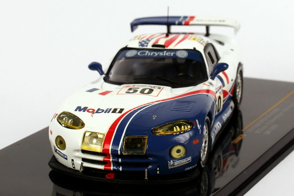 Foto 1:43 Chrysler Viper GTS-R 24h von Le Mans 1998 Mobil 1 Nr.50, Duez /  Wendlinger / Huisman Ixo LMM070