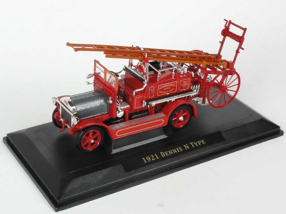 Foto 1:43 Dennis N Type (1921) Fire Engine Bass, Ratcliff & Gretton Fire Brigade Yat Ming 43008