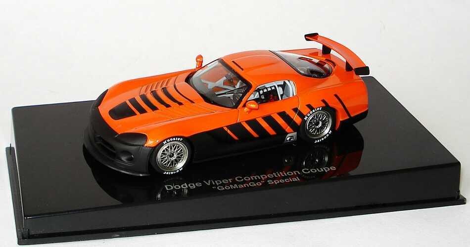 Foto 1:43 Dodge Viper Competition Coupé goManGo Special orange AUTOart 60422