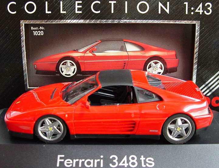 Foto 1:43 Ferrari 348ts rot (PC) herpa 1020