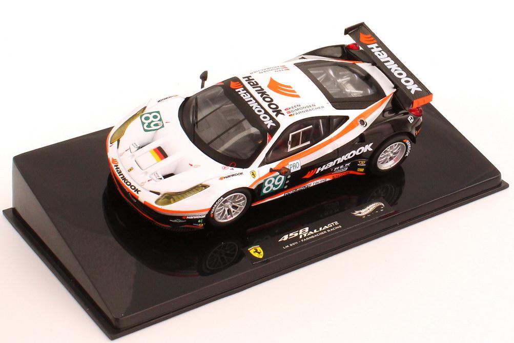 Foto 1:43 Ferrari 458 Italia GT2 24h von Le Mans 2011 Farnbacher Racing, Hankook Nr.89, Farnbacher / Simonsen / Keen Elite X5498