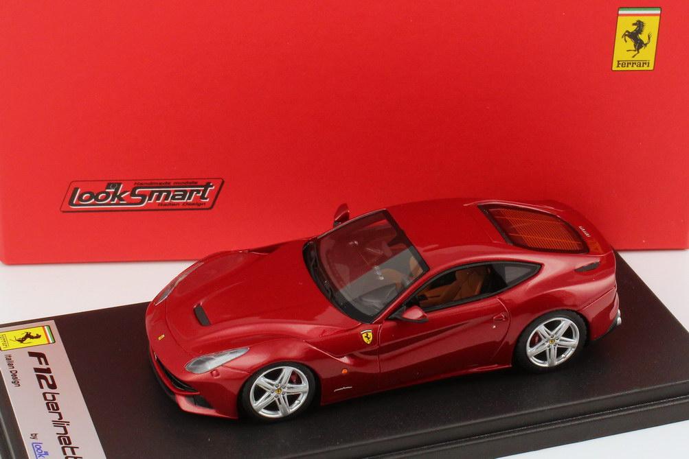 Foto 1:43 Ferrari F12berlinetta rosso-berlinetta-met. Looksmart LS397A